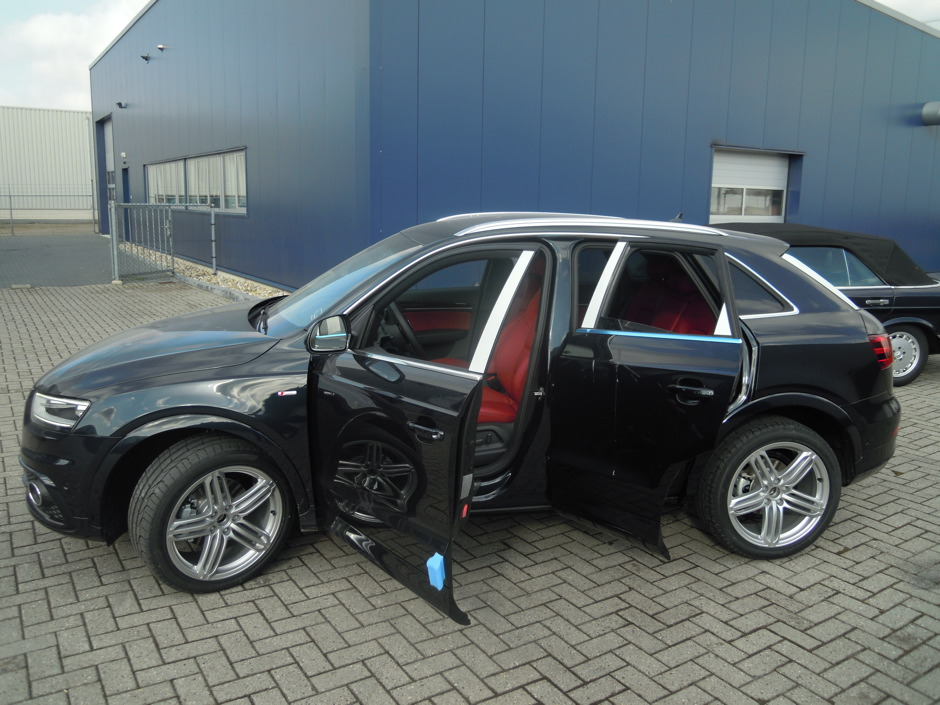 Leder interieur audi q3 jt autobekleding for Audi q3 photos interieur