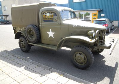 Dodge Leger Truck Canvas Kap